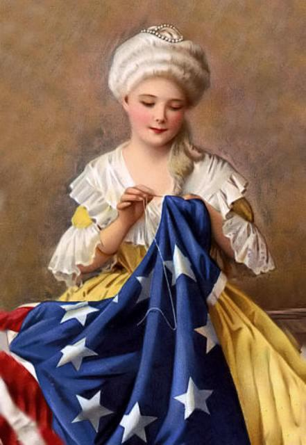 American Flag inventor Betsy Ross