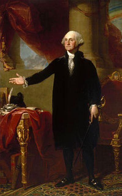 American Flag inventor George Washington