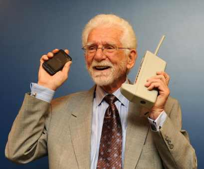 Cell Phone Inventor Dr. Martin Cooper