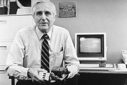 Computer-Mouse- Inventor-Douglas Engelbartas