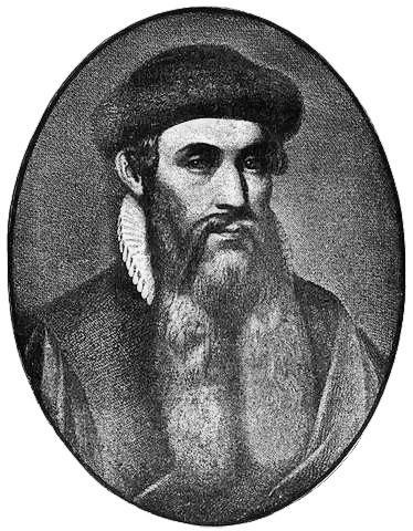 Printing Press inventor Johannes Gutenberg