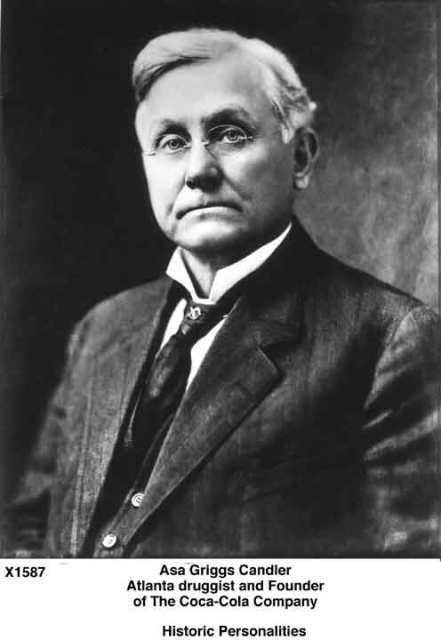 coke inventor Frank Robinson