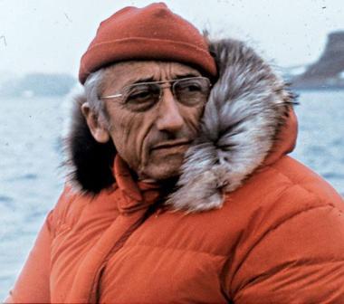 AquaLung invetor Jacques Cousteau
