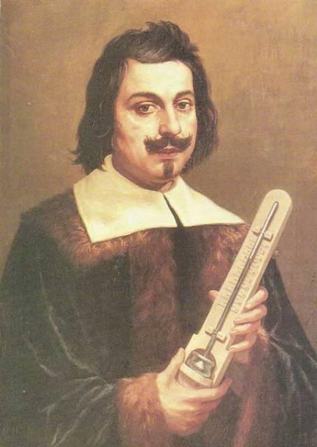 Barometer Inventor Gasparo Berti