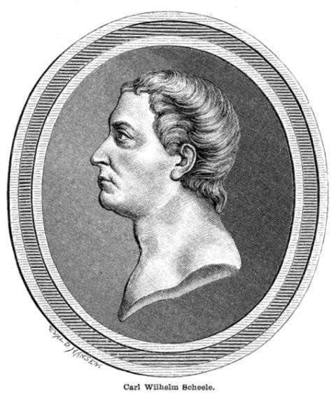 Chlorine Inventor  Carl Wilhelm Scheele
