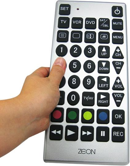 First TV Remote Control