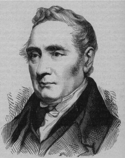 First Train Inventor George Stephenson