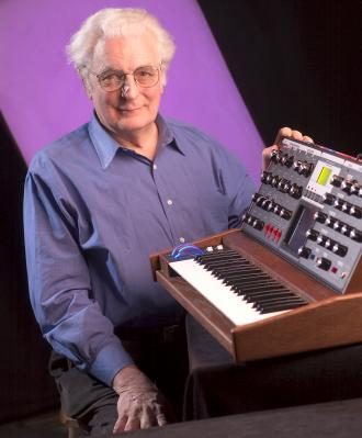 Synthesizer inventor Robert Moog