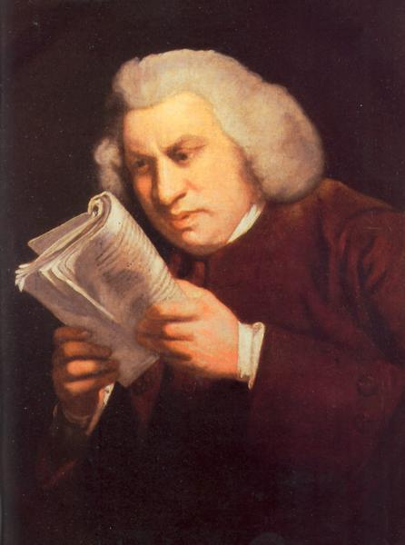first dictionary of English Inventor Samuel Johnson