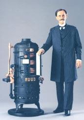 Electric Water heter inventor Edwin Ruud