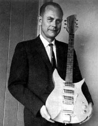 Electronic Guitar inventor George Beauchamp