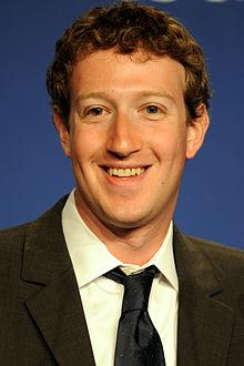 Facebook Inventor Mark Zuckerberg