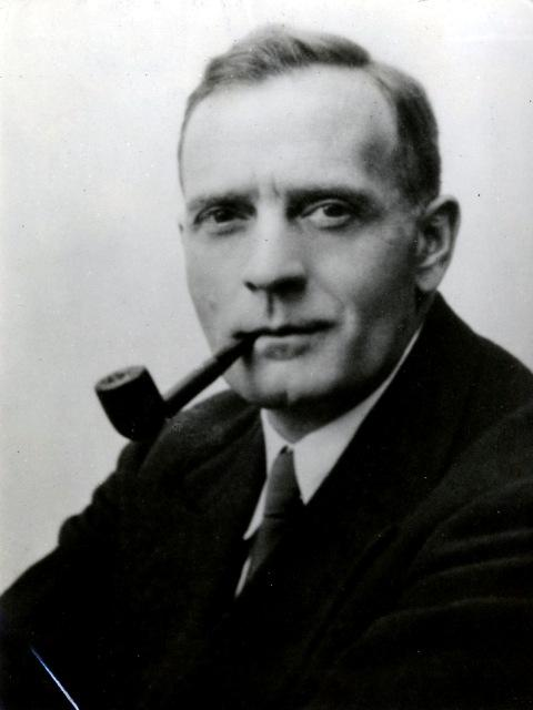 Holography inventor Edwin P. Hubble