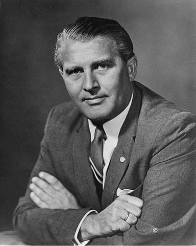 Rocket-Inventor-Werhner Von Braun
