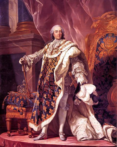 Stapler inventor Louis XV