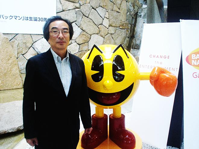game of Pac-Man inventor Toru Iwatani