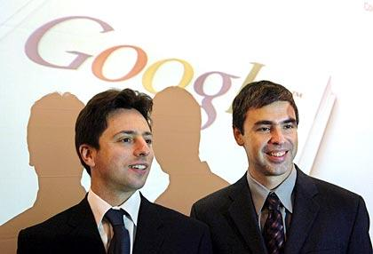 google-inventor-Larry Page And Sergey Brin
