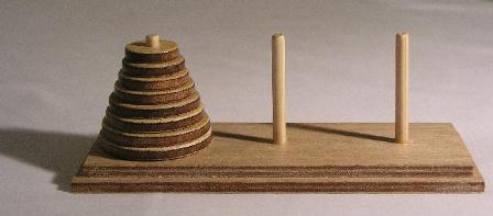 puzzle of Tower of Hanoi